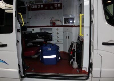 Transport allongé Ambulances Vacossaint
